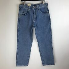 Wrangler Jeans - Relaxed Fit Distressed - Tag Size: 33x30 (31x29.5) - #4214