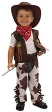 Cowboy Toddler Boys Fancy Dress Costume Halloween Party Western 2-3 Years