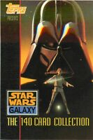 1993 TOPPS STAR WARS GALAXY SERIES 1 - PICK / CHOOSE YOUR CARDS