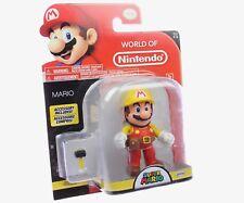 "SUPER MARIO w/ Tool Belt 4"" World of Nintendo 2017 Series 2-6 Action Figure"