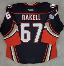 Authentic Anaheim Ducks Team Issued Rickard Rakell Home Jersey