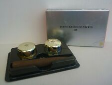 LANCOME Vernis Creme de Nacres Light Duo of Nail Polish, #01 Golden Apala, BNIB