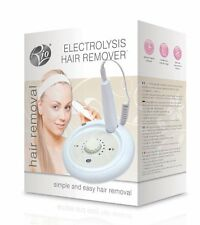 Rio Home Electrolysis Tweezer Permanent Hair Removal System for Body, Arms, Face