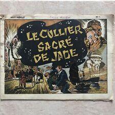 Le Collier De Jade BRANTONNE Ed. Mondiales 1945 Récit Complet
