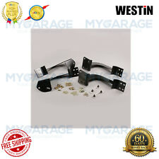 Westin For 05-17 Frontier/05-12 Pathfinder Oval Step Mounting Brackets 22-1525
