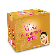 Olivia Professional Gold Skin Bleach with Saffron for Glow 325g