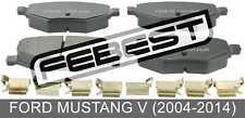 Pad Kit, Disc Brake, Rear - Kit For Ford Mustang V (2004-2014)