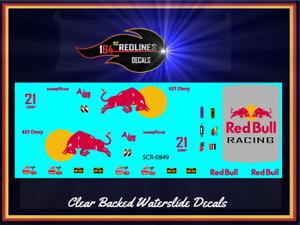1/64 '55 Chevy 'Red Bull' Gasser CUSTOM Decal SCR-0849