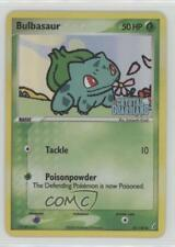 Reverse Holo Lightly Played EX Crystal Guardians P Bulbasaur 45/100 Common