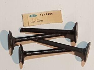 FORD CORTINA GT MK I CAPRI GT CORSAIR GT 4 pcs INLET VALVES std.116E-6507-D NOS!