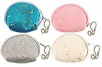 12 Glitter Coin Purses - Pinata Toy Loot/Party Bag Fillers Wedding/Kids