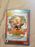 SEALED Donkey Kong Country: Tropical Freeze Nintendo Selects (Wii U) New