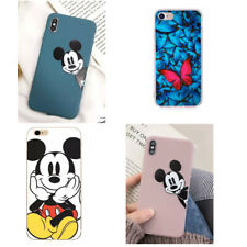 Cute Mickey Minnie Cover For iPhone XR Disney Soft Phone Case 3D