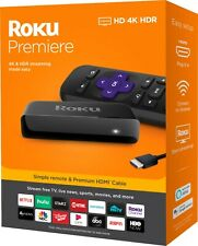 Roku Premiere 3920 4K Streaming Media Player ESPN+ Button Four Months Warranty👍