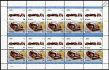 1931 TALBOT 105 Sports Car 20-Stamp Sheet / Auto 100 Leaders of the World