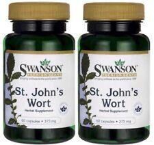 2X St John's Wort 375 mg x 60 (120) Capsules MOOD / DEPRESSION - 24HR DISPATCH
