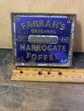 original vintage FARRAH`S ORIGINAL HARROGATE TOFFEE TIN BOX.