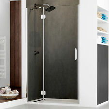 Box doccia nicchia 110 apertura battente in vetro anticalcare trasparente novità