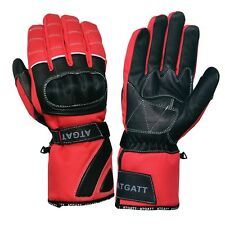motorbike gloves, carbon knuckle protective shell, waterproof