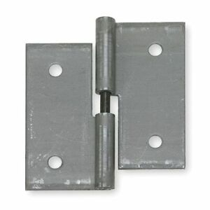 Zoro Select 3Hug6 2 In W X 2 In H Steel Lift-Off Hinge