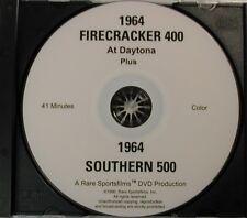1964 Firecracker 400 at Daytona & '64 Southern 500 at Darlington on DVD in Color
