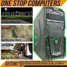 SUPER FAST AVP GAMING COMPUTER INTEL CORE 2 DUO E8400 @ 3.00Ghz 4GB 160GB WIFI