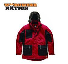 Abrigos y chaquetas de hombre parka rojo