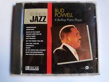 "BUD POWELL BE-BOP PIANO - CD ATLAS JA-CD 2023 ""Les génies du Jazz"" VOL IV no 7"