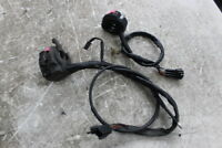 2000 KAWASAKI NINJA ZX12R ZX 12 LEFT RIGHT HANDLE ON OFF SIGNALS SWITCH SWITCHES