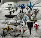 Huge Lot of 20 Diecast Airplanes, Jets, Military Maisto, Road Champs Matchbox +
