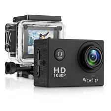 Hot Camera Wewdigi Ev4000 12Mp 1080P 2 Inch Lcd Screen, Action/Waterproof Sports