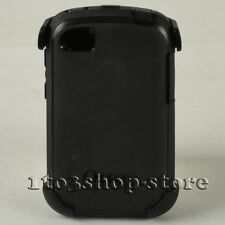 OtterBox Defender RIM Blackberry Q10 Hard Case Cover w/Holster Belt Clip (Black)