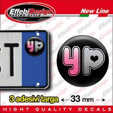 ADESIVI sticker bollino targa/plate YOUPORN sexy moto auto mini honda bmw ktm