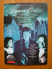 PAUL McCARTNEY LIVERPOOL ORATORIO MINT TICKET BOOKING FORM 1991 LONDON L@@K