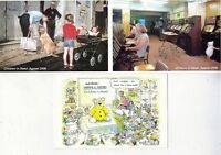 THREE MINT CHILDREN IN NEED POSTCARDS ALL UNADDRESSED & UNSENT