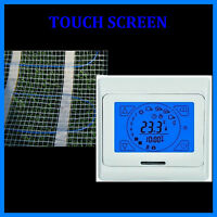 elektrische Fußbodenheizung 20 qm + Touch Screen Regler HB BLUE 91-TS