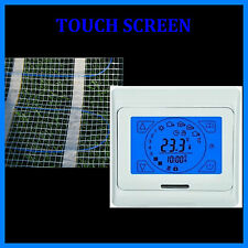 Chauffage Electrique Au Sol 4,5 m² + Contrôleur A Ecran Tactile HB Bleu 91-TS