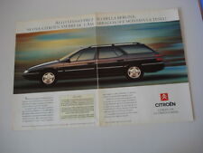 advertising Pubblicità 1992 CITROEN XM BREAK
