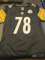 Alejandro Villanueva Pittsburgh Steelers Salute To Service Limited Jersey - Olive
