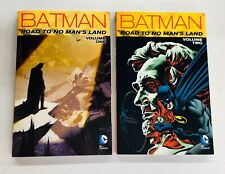 Batman Road to No Man's Land Volume 1 & 2 DC Comics TPB Trade Paperback New