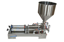 Paste&liquid Filling Machine 50-500ml Two Nozzles 110V