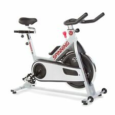 Spinner S3 Indoor Cycling Bike mit vier Spinnen DVDs Silber