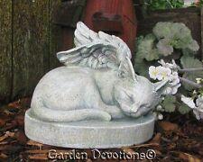 KITTY CAT ANGEL Garden Statue Grave Stone Marker PET MEMORIAL Durable Resin NEW!