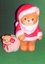"Lucy & Me Bears Lucy Rigg Enesco - 3"" Santa Bear With Bag Of Gifts"