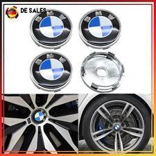4 X 60MM BMW Nabendeckel Radnaben Radkappe Nabenkappen Felgendeckel BLAU DE