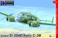 Kovozavody Prostejov 1/72 Modelo Kit 7259 Siebel Si 204E/C-3B Aero