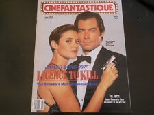 James Bond, Pee-Wee Herman, Mark Hamill - Cinefantastique Magazine 1989