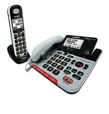 NEW UNIDEN SSE37+1 Visual & Hearing Impaired Cordless and Corded Phone System