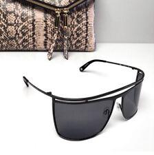 Henri Bendel Wrap Around/Shield Sunglasses Hematite Lexi Shield NWT