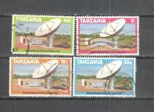 S8815 - TANZANIA 1979 - SERIE COMPLETA STAZIONE SATELLITARE - VEDI FOTO